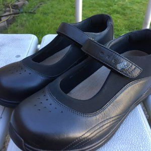 Drew Women's Black Leather Mary Jane Shoes Size 10